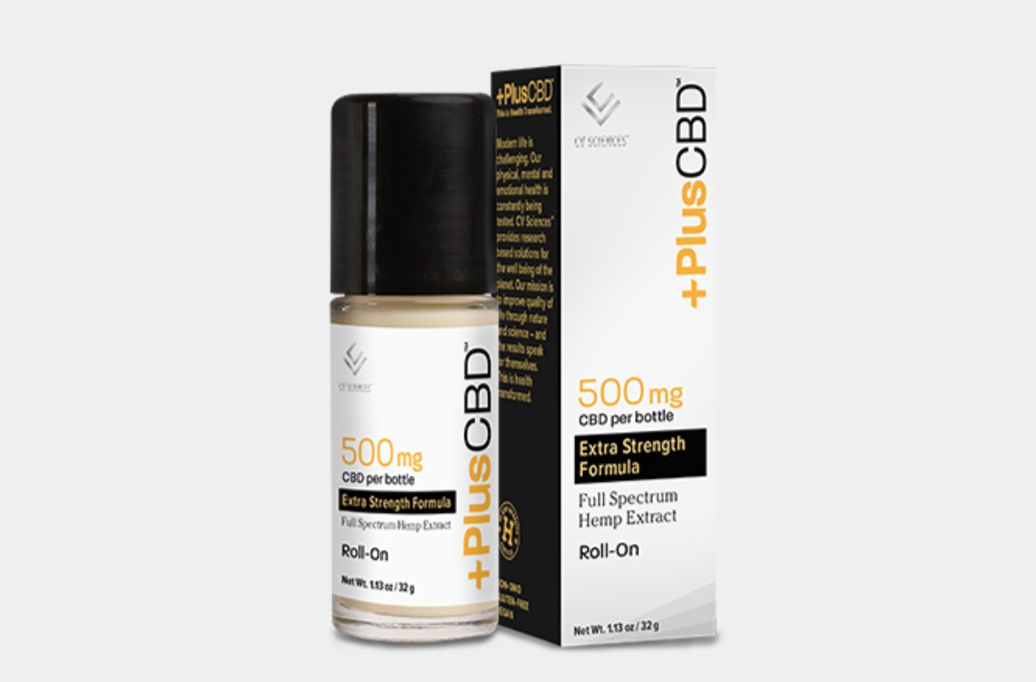 Plus CBD Oil Roll-On